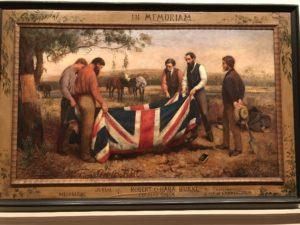 Lukisan di pojok Perpustakaan Daerah Victoria