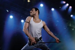 Freedy Mercury on the stage