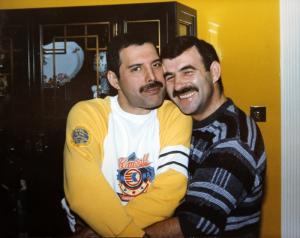 Freedy and his boyfriend, Jimm Hutton