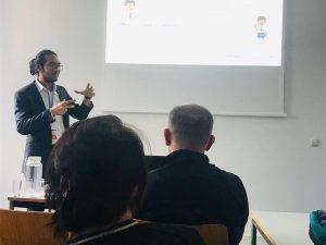 Menjadi presenter di International Conference of Social Science, Humanities and Education di Universiy of Vienna, 2019